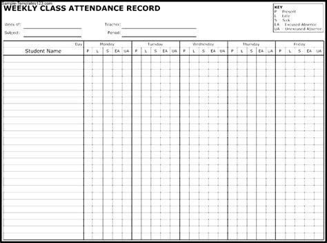 attendance roster template search results for free 2016 employee attendance calendar