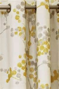John Lewis Custom Made Curtains Elissia Next Yellow And Grey Curtains