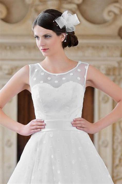 Brautkleider Rockabilly by Brautkleid Mit Punkten Kleiderfreuden
