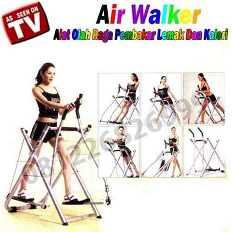 Freestyle Glider Air Walker Fitness Idachi jual air walker new freestyle glider alat fitness baru
