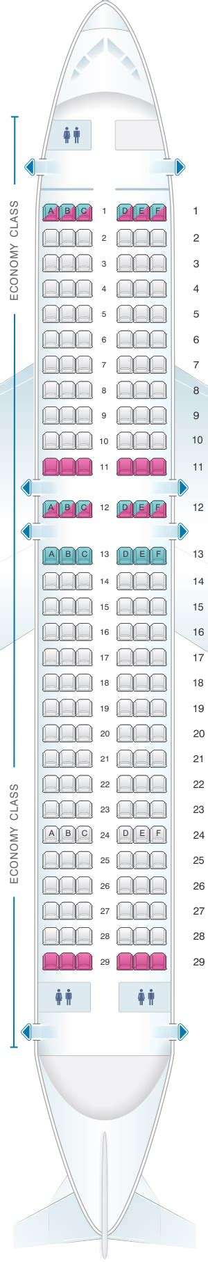 aer lingus seats seat map aer lingus airbus a320 seatmaestro