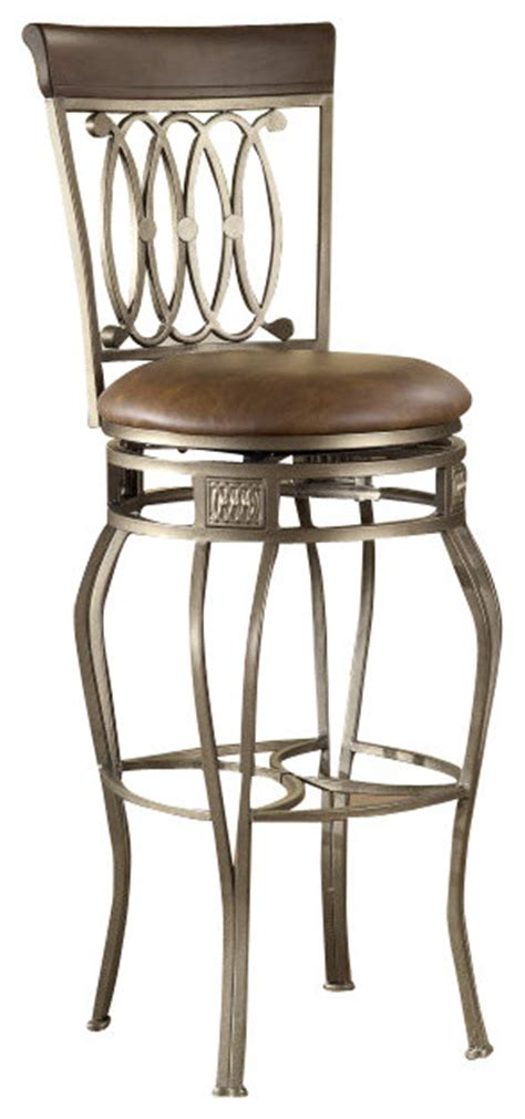 28 Inch Backless Bar Stools by Hillsdale Montello Swivel 28 Inch Counter Height Stool