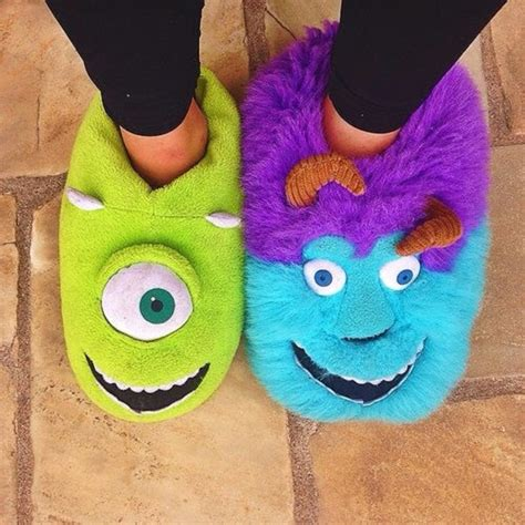 monsters inc slippers sale item was 163 25 00 disney monsters mike sully