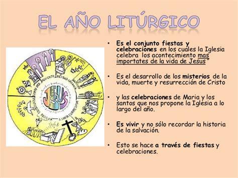 Q Es El Calendario Liturgico 191 Que Es El A 241 O Liturgico Explicada A Ni 241 Os Imagui