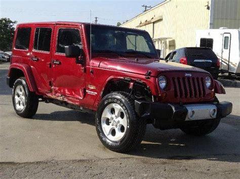 Jeep Only Junkyard Find Used 2013 Jeep Wrangler Unlimited 4wd Damaged