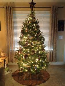 my country primitive christmas tree christmas pinterest