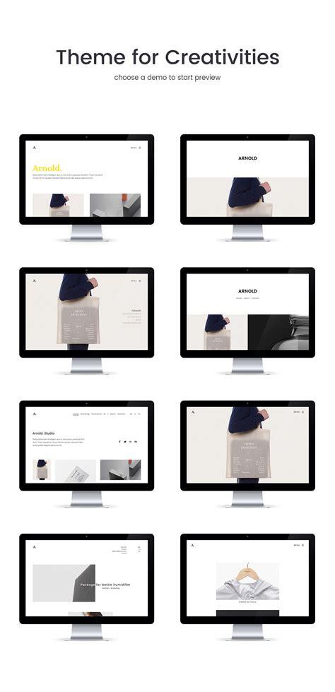 minimal html5 template free arnold minimal portfolio html5 template by bwsm