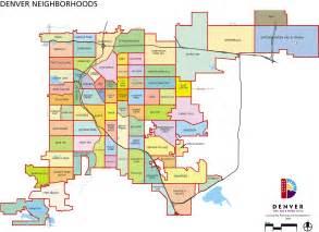 denver colorado suburbs map denver neighborhoods map denver mappery