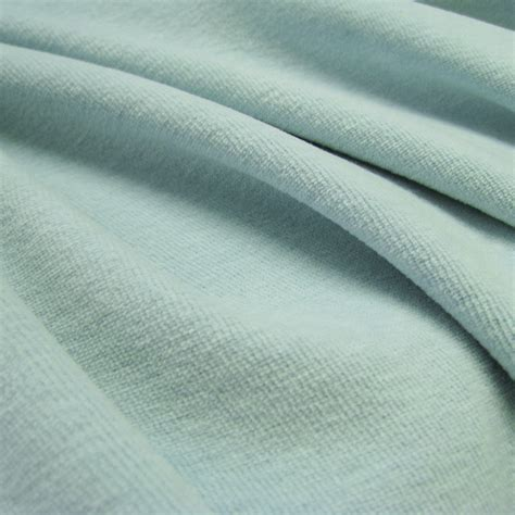 velour upholstery fabric organic cotton velour fabric aqua gots certified
