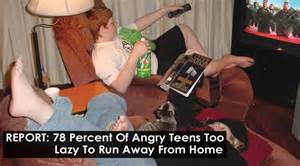 kid runs away from home report 78 percent of angry lazy to run away