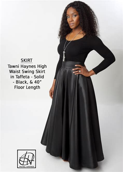 floor length high waist swing skirt tawni haynes swing skirts