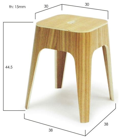 Stool Diameter by Minimal Stacking Stools Size Chart Modern Living Room