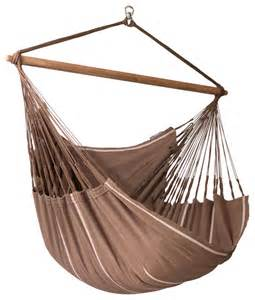 Hammock Swing Chair La Siesta Hammock Chair Lounger Habana Chocolate Lounger