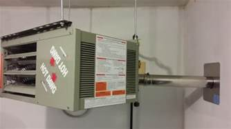 modine residentially certified gas fired unit heater