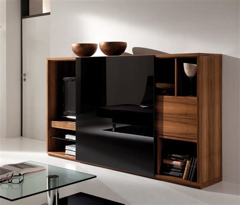 die collection rooming walnut black buffets de die collection architonic