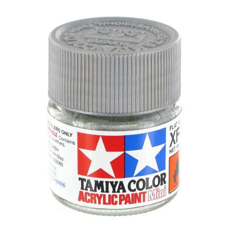 tamiya acrylic paint xf tamiya colour acrylic paint xf 16 flat aluminium 10ml