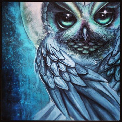 mystic owl tattoo mystic owl by jordanmendenhall on deviantart malarstwo