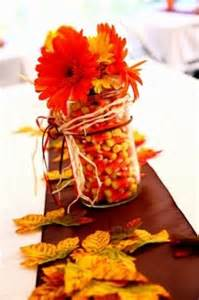 ideas for a fall themed centerpiece for bridal shower