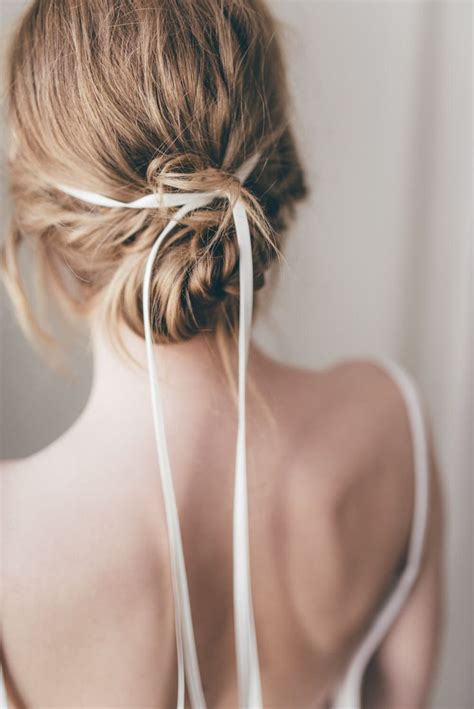 bridal ribbon hairstyles best 25 ribbon hairstyle ideas on pinterest hairstyles with ribbon ribbon hair and hair with bow