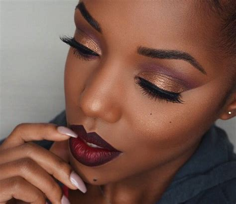 lip tutorial instagram 8 eyeshadow ideas for black women makeup tutorials