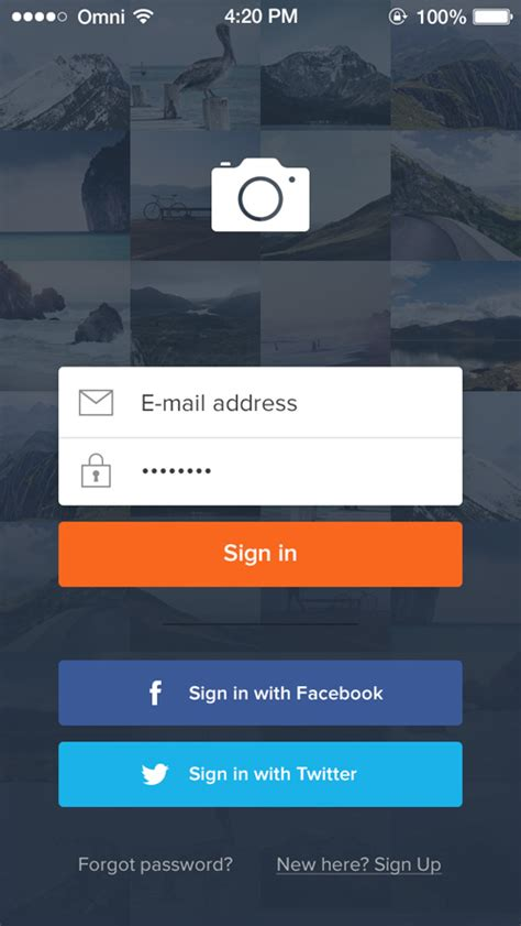 login app for android 32 modern app sign in login screen ui designs graphic design ui design