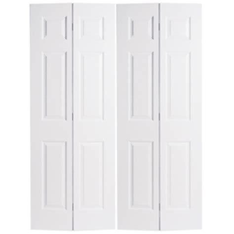 48 Bi Fold Closet Doors Shop Reliabilt Hollow 6 Panel Bi Fold Closet Interior Door Common 48 In X 80 In Actual