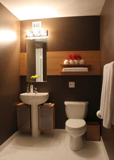 chocolate brown bathroom ideas ba 241 os modernos peque 241 os