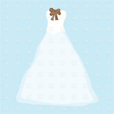 Lace Wedding Dress Clipart by Teal Wedding Dress Clipart Clipground