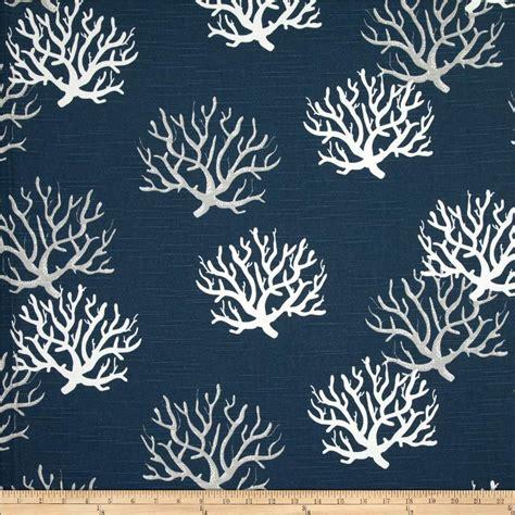 home decor fabrics by the yard home design ideas premier prints isadella coral slub premier navy discount