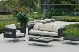 Outdoor Modern Patio Furniture Patio Furniture Deep Seating Contemporary Garden