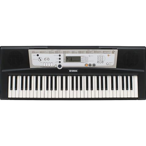 Keyboard Yamaha E203 Yamaha Psr E203 61 Key Portable Keyboard Musician S Friend