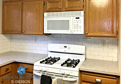 ideas update oak  wood cabinets   drop  paint