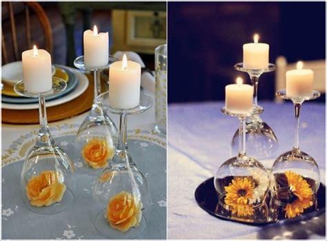 Diy Wine Glass Centerpiece Home Design Garden Glass Centerpiece Ideas