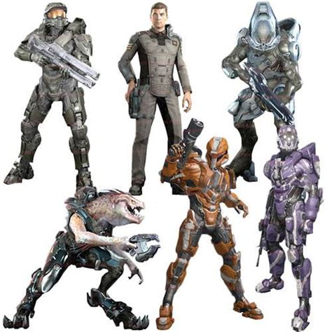 halo 4 figures buy toys and models halo 4 series 2 figure set of