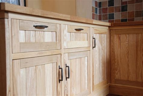 hand crafted custom ash kitchen cabinets by blue spruce handmade solid ash kitchen wood works brighton