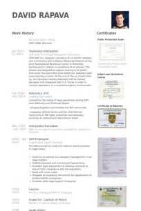 Interpreter Resume Samples translator resume samples visualcv resume samples database