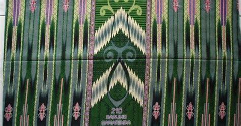 Tenun Ikat Songket Keker Terlaris kain tenunan tradisional dari kota samarinda kalimantan