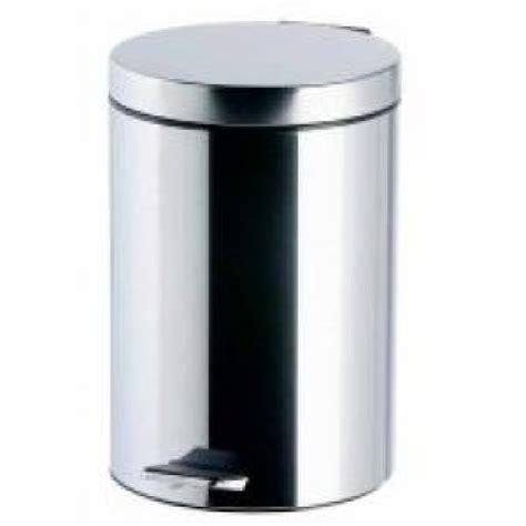 Of Steel 12 stainless steel pedal bin 12 litre capacity