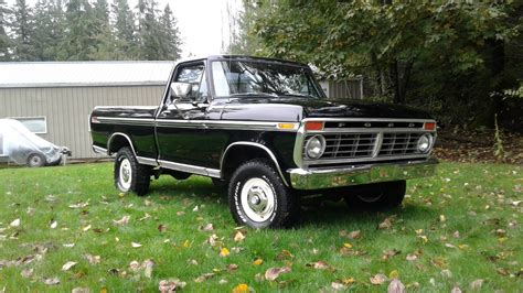 truck ford is this raven black 1974 ford f 100 the holy grail ford