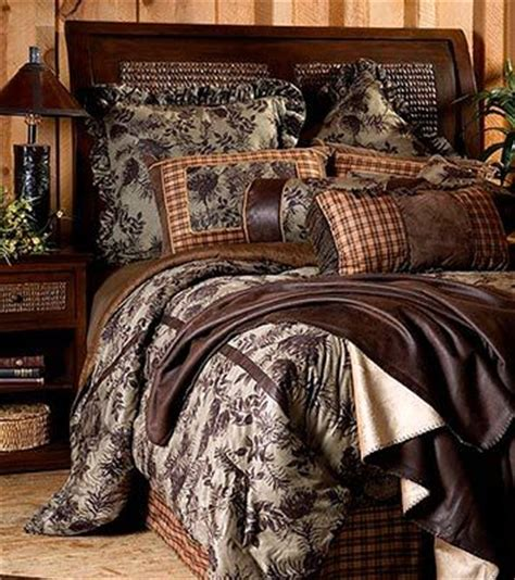 upgrade your bedroom with our moss pinecone comforter set
