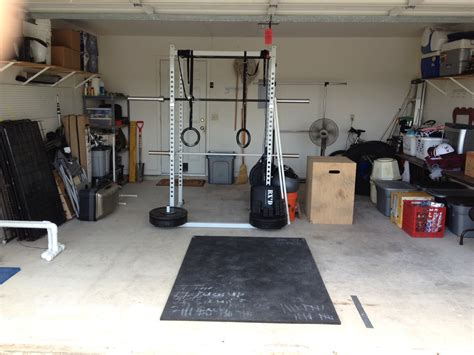 Garage Crossfit by Flooring For Garage Maybe Not A Garage But It