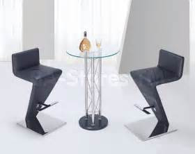 modern 3 pc bar set with unique bar stool modern