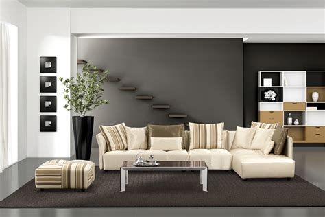 White Leather Sofa Living Room Ideas Modern Living Room Styles Modern House
