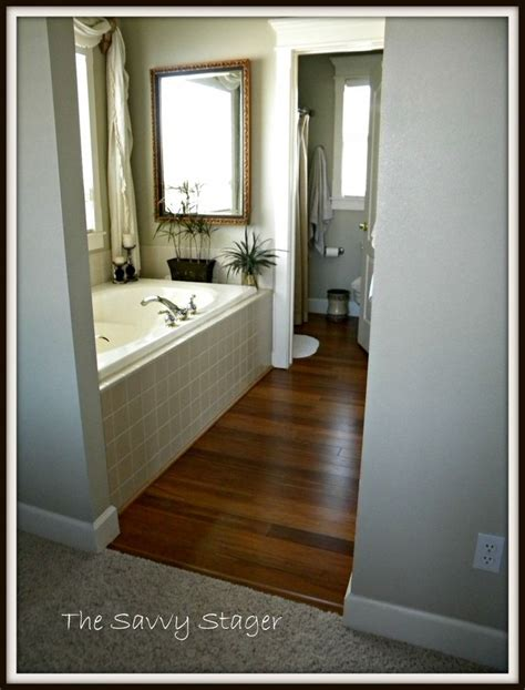 bamboo flooring in bathroom bamboo floors in master bathroom bathrooms pinterest