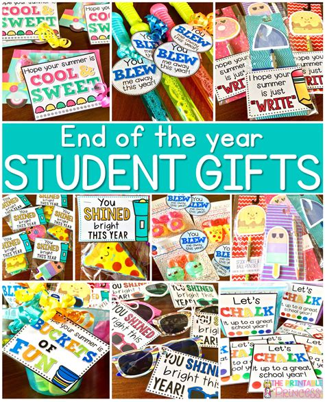 gift ideas for students on pinterest student gifts easy end of the year gifts for students