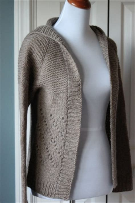 pattern hooded cardigan knit cardigan pattern a knitting blog