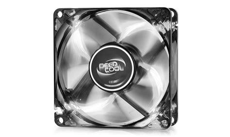 Promo Deepcool Wind Blade White Led With Hydro Bearing Fan 12 wind blade 80 w deepcool accessory