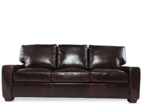 leather sleeper sofa for better comfort inertiahome