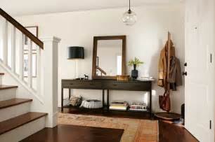 berkeley console table modern entry by room board