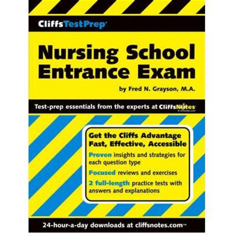 nursing school test nursing school entrance fred n grayson 9780764559860